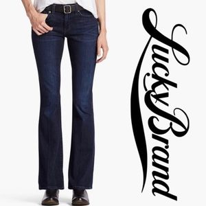 """LUCKY BRAND   """"Sofia"""" Bootcut Mid Rise Ankle Jeans"""